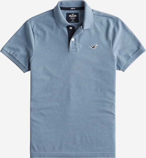 HOLLISTER Poloshirt 'HERITAGE POLO COLORS' in navy, Produktansicht