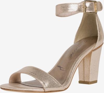 TAMARIS Sandalette in rosegold, Produktansicht