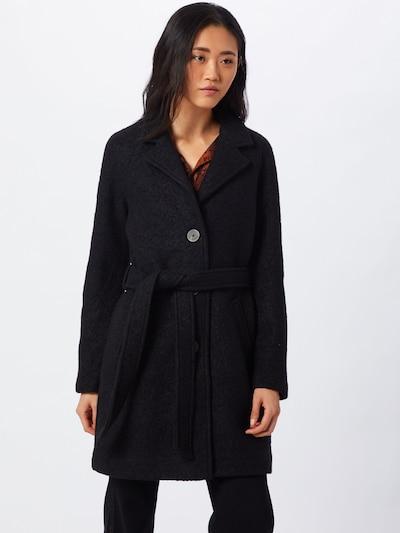 VILA Mantel 'VIALANIS' in schwarz, Modelansicht