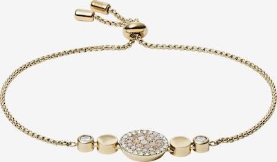 FOSSIL Armband in gold / weiß, Produktansicht