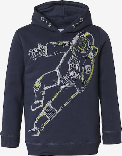 STACCATO Sweatshirt in nachtblau / gelb / weiß, Produktansicht