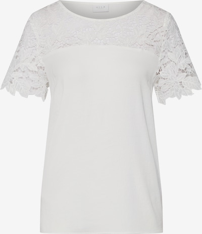 VILA Damen - Shirts & Tops 'VIMELLI BLOCKED LACE TOP' in weiß, Produktansicht