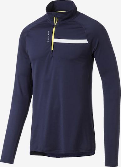 PUMA Longsleeve in taubenblau / gelb / weiß, Produktansicht