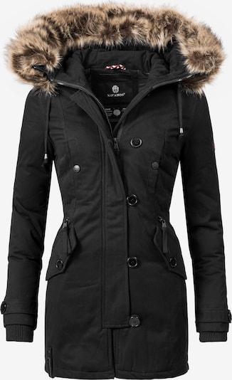 NAVAHOO Wintermantel 'Pauline' in schwarz, Produktansicht