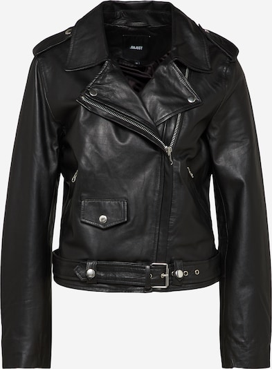 OBJECT Lederjacke 'NANDITA' in schwarz, Produktansicht