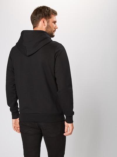 Megztinis be užsegimo iš DIESEL , spalva - juoda / balta: Vaizdas iš galinės pusės