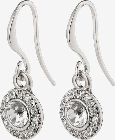 Pilgrim Uhani 'Clementine' | srebrna barva, Prikaz izdelka
