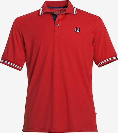 FILA Performance Shirt 'Button Piro' in Red, Item view