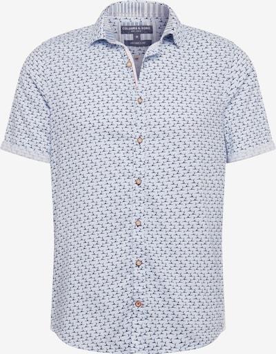 COLOURS & SONS Hemd 'SHORTY' in hellblau / dunkelblau, Produktansicht