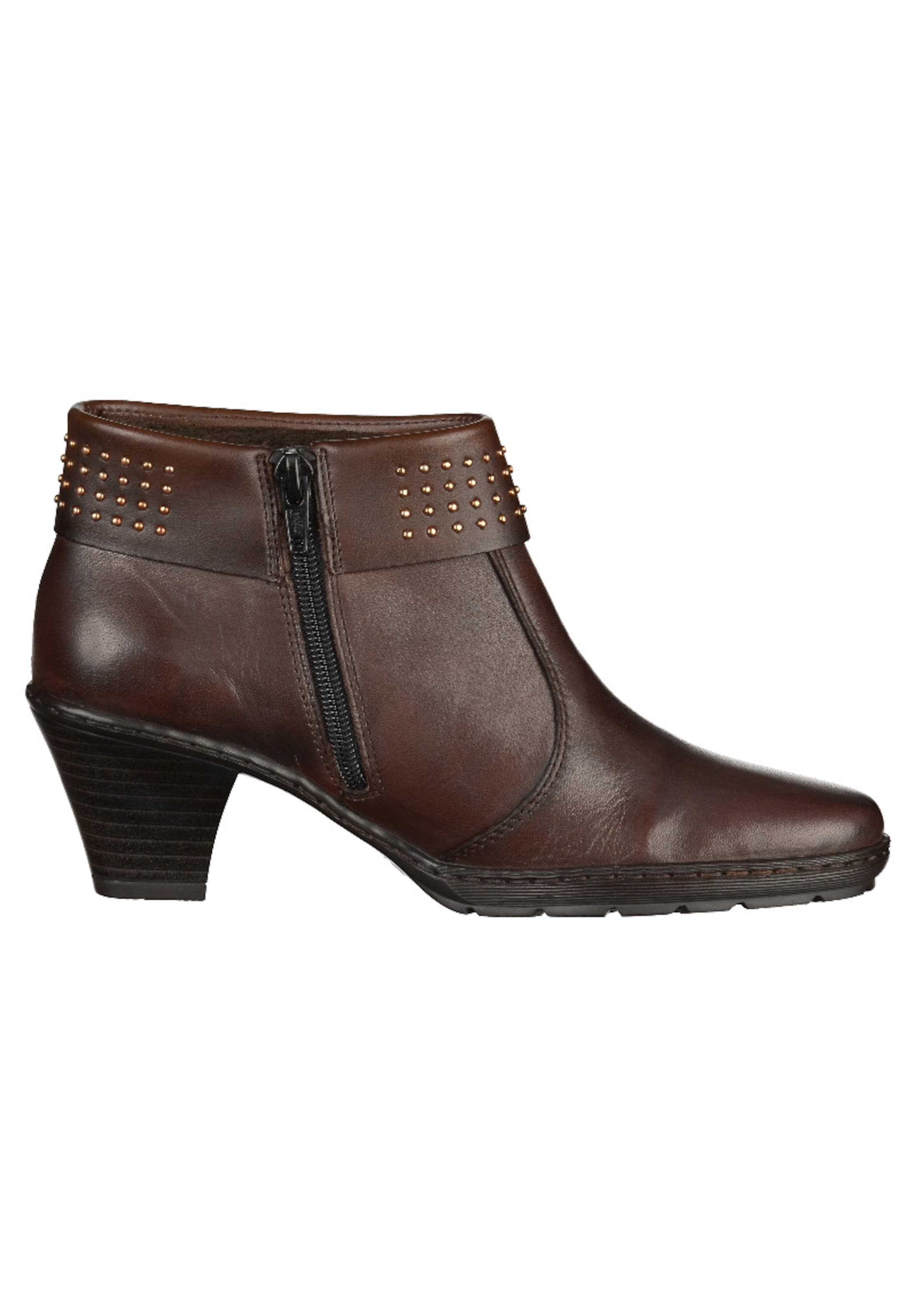 Rieker Rieker Stiefelette Rieker Stiefelette In Dunkelbraun Dunkelbraun Stiefelette In Rieker Dunkelbraun In O0nw8kP