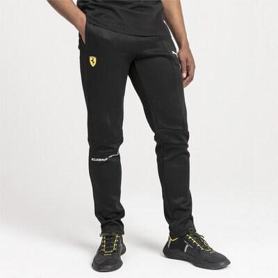 PUMA Broek 'Ferrari T7' in de kleur Zwart: Vooraanzicht