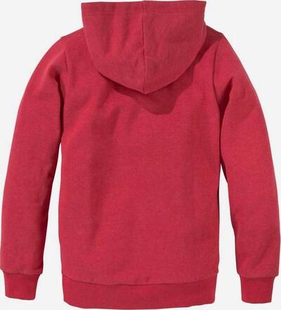 BENCH Kapuzensweatshirt in rot, Produktansicht