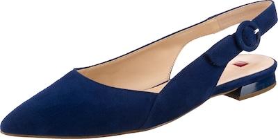Högl Cheery Sling-Ballerinas in blau, Produktansicht