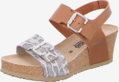 MEPHISTO Sandale 'Lissandra' in beige / braun / schwarz, Produktansicht