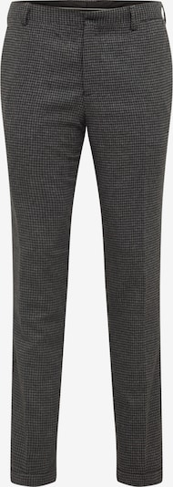 SELECTED HOMME Hose 'SLHSLIMTAPERED-FLEET PANTS B' in grau / schwarz, Produktansicht