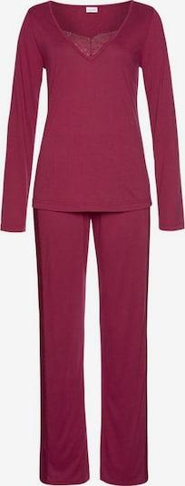 LASCANA Pyjama in de kleur Pastelrood, Productweergave