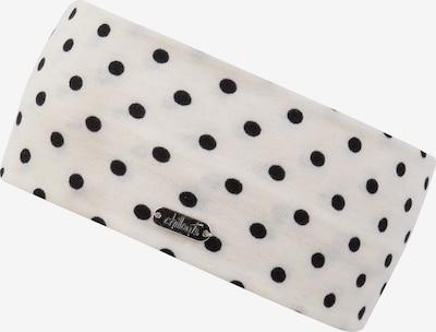 chillouts Stirnband 'Lodz Headband' in creme / schwarz, Produktansicht