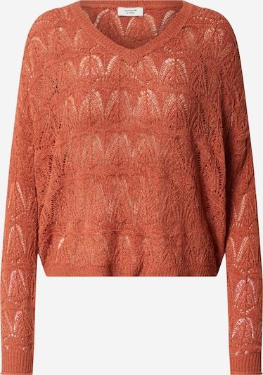 JACQUELINE de YONG Trui 'Kunis' in de kleur Oranjerood, Productweergave