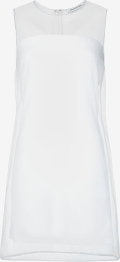 Calvin Klein Jeans Organza Double Layer Dress in weiß, Produktansicht