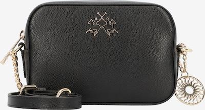 La Martina Nevada Umhängetasche Leder 18 cm in gold / schwarz, Produktansicht