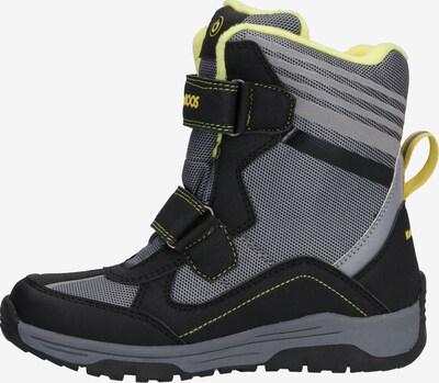 KangaROOS Snowboots 'Snow Flash Boys SL RTX' in schwarz: Seitenansicht