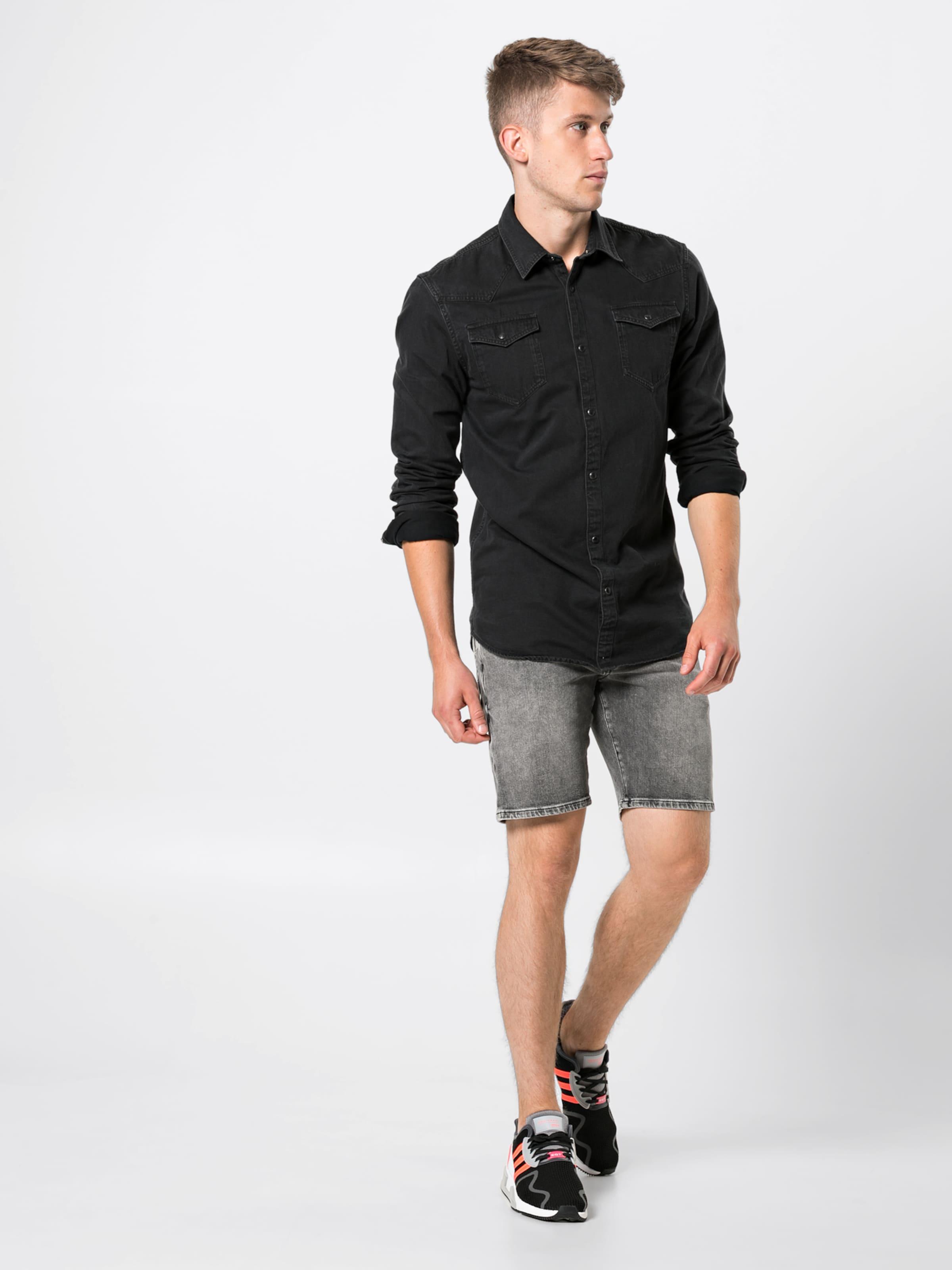 Wa' Hemd Ams Soda 'slim Easy Western Dunkelgrau Fit Blauw Scotchamp; Authentic In Simple Shirt 4A35ScqRjL