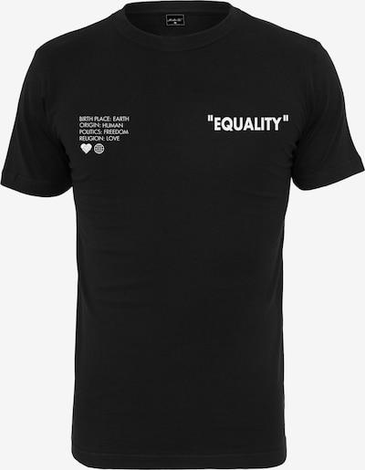 Mister Tee Shirt in de kleur Zwart / Wit, Productweergave