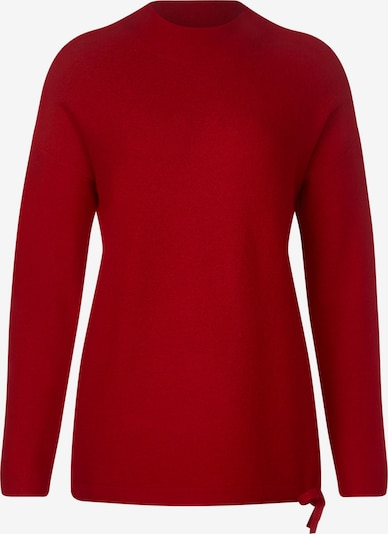 STREET ONE Pullover 'Etti' in rot, Produktansicht