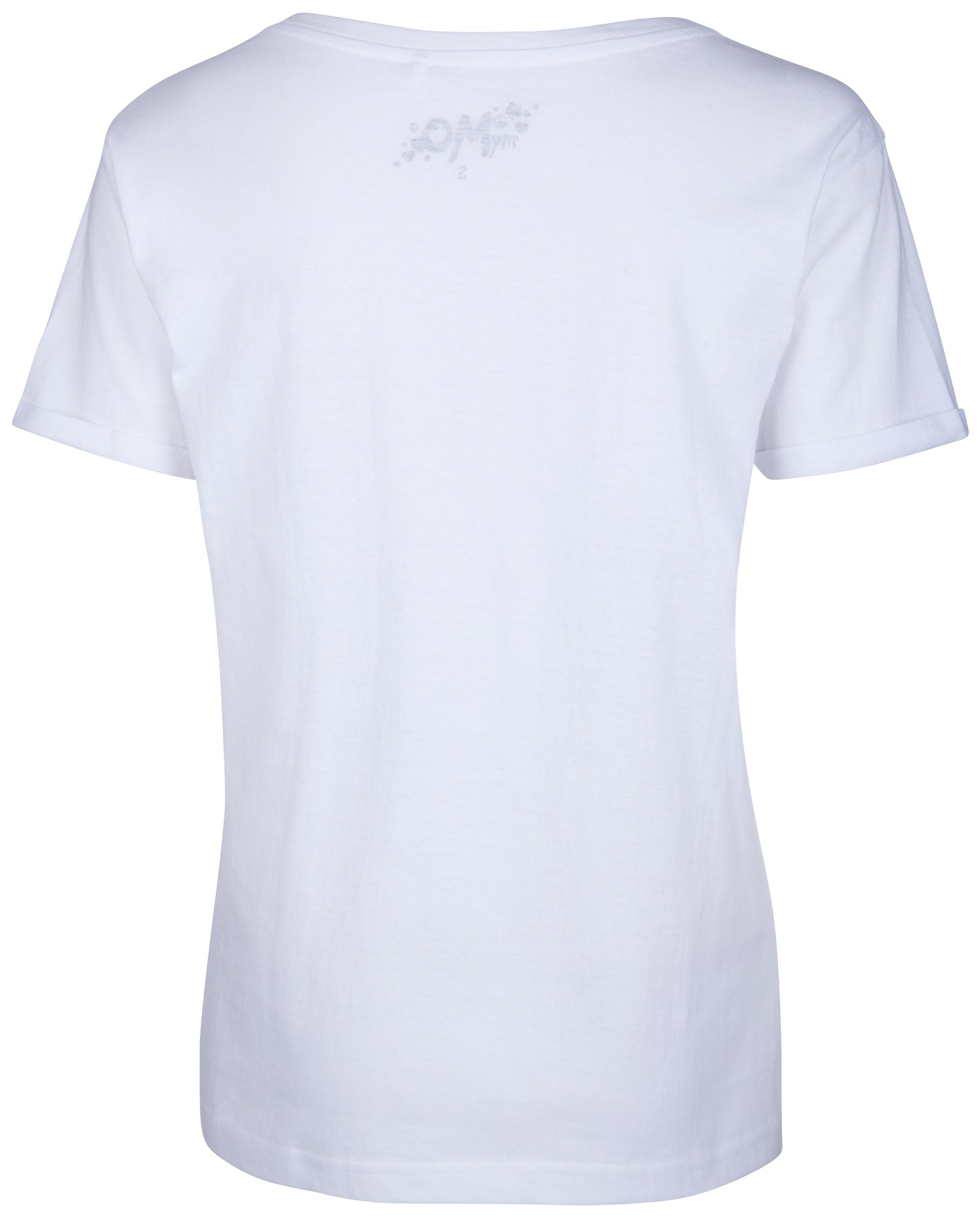 Blanc shirt T shirt Mymo T Mymo En XkiTPuOZ