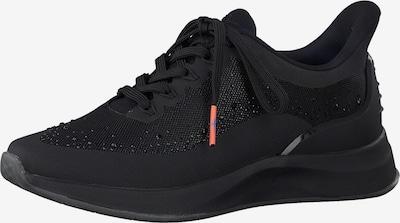 TAMARIS Sneakers laag 'Tamaris Fashletics' in de kleur Zwart, Productweergave