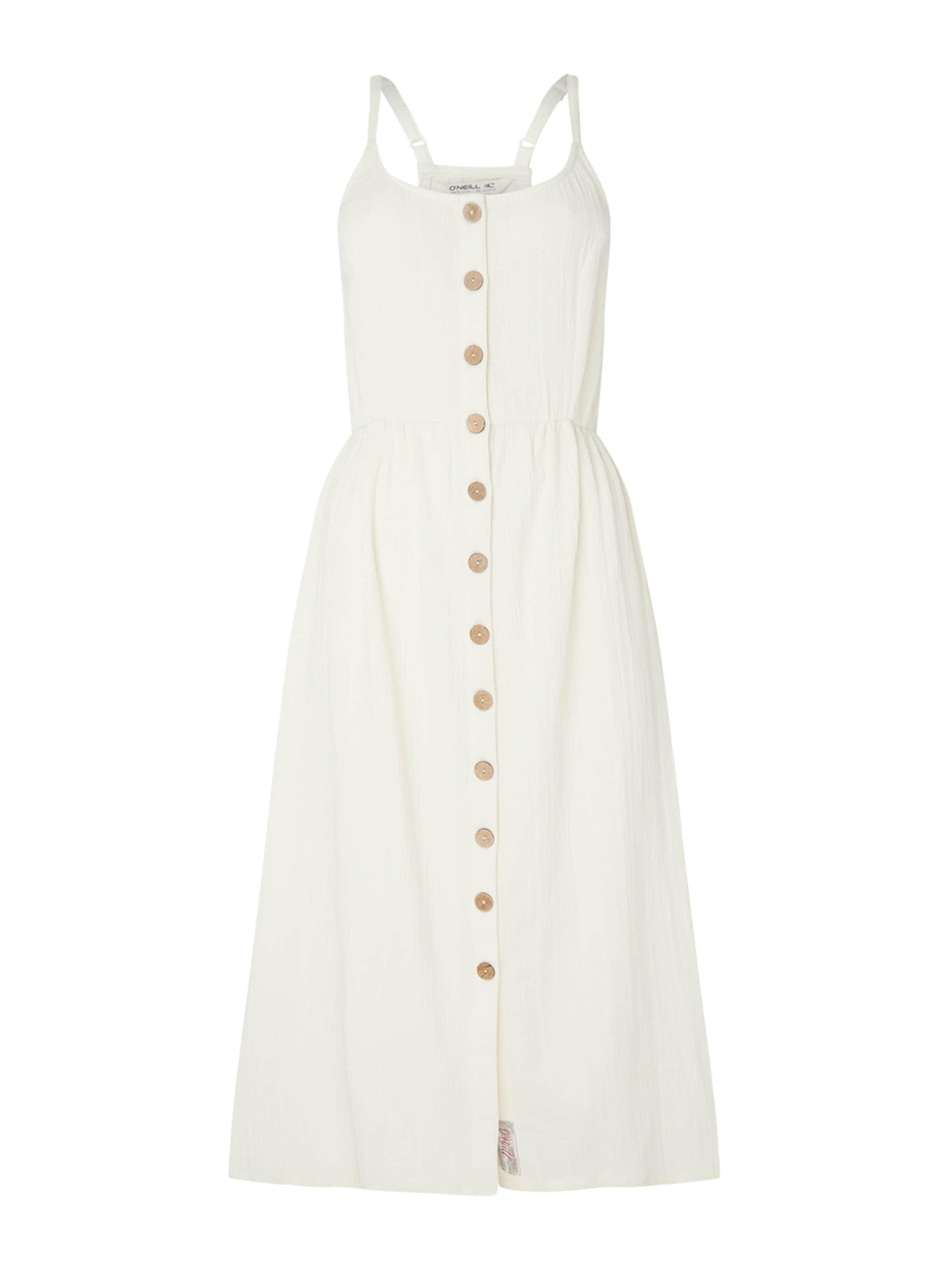 O'NEILL Nyári ruhák 'LW AGATA DRESS' fehér színben