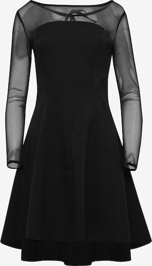 faina Cocktailkleid in schwarz: Frontalansicht