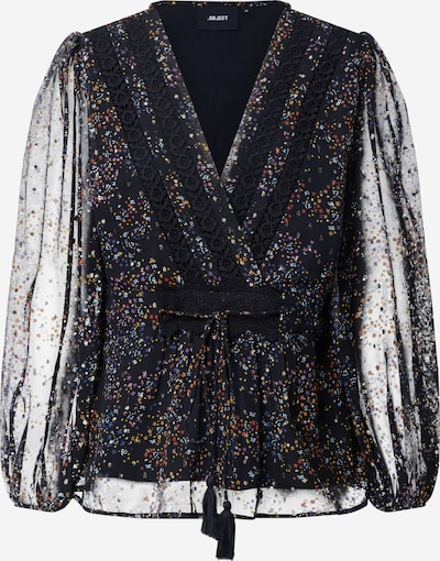 OBJECT Bluse 'MILO' in schwarz, Produktansicht