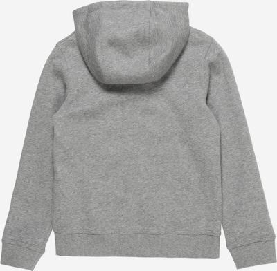Nike Sportswear Veste de survêtement en gris / blanc: Vue de dos