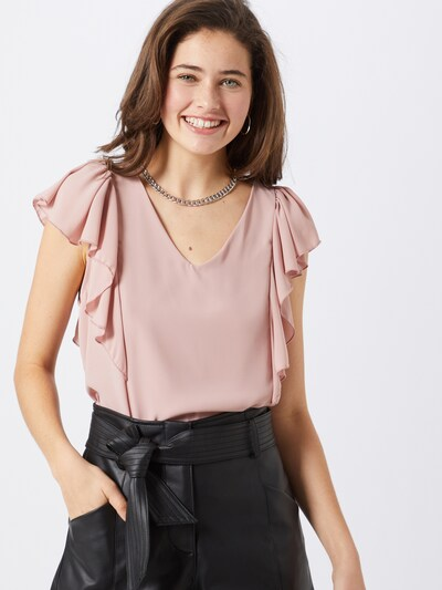 Boohoo Bluse in rosa, Modelansicht