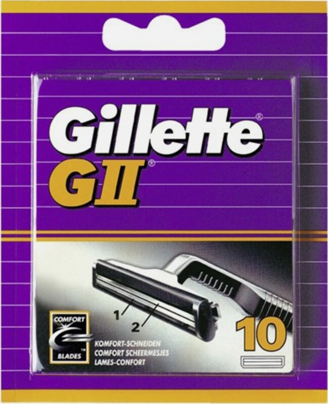 Gillette Gii, Razor Blades (10 Pcs.)
