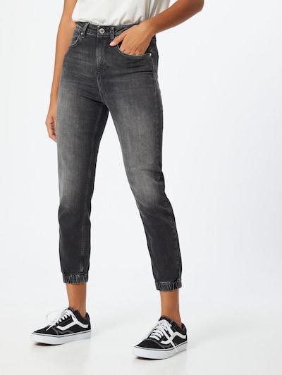 ONLY Jeans 'Сlip Life' in grey denim: Frontalansicht
