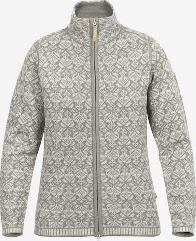 Fjällräven Sportief sweatvest ' Snow Cardigan ' in de kleur Grijs gemêleerd, Productweergave
