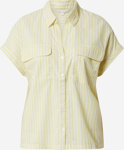 TOM TAILOR DENIM Bluzka w kolorze żółty / białym, Podgląd produktu
