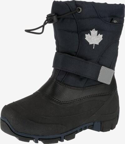 CANADIANS BY INDIGO Winterstiefel in blau / grau / schwarz, Produktansicht
