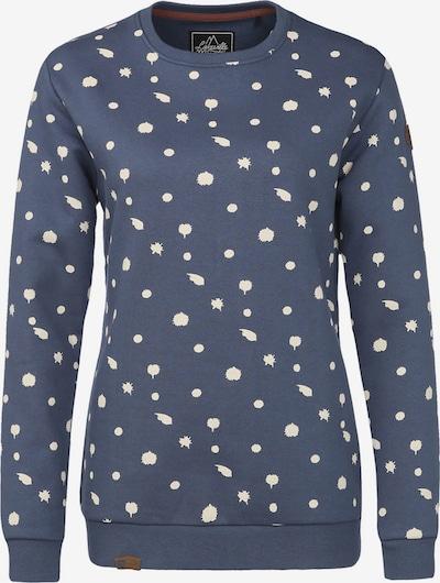 Lakeville Mountain Sweatshirt 'Uelle Dots' in rauchblau, Produktansicht