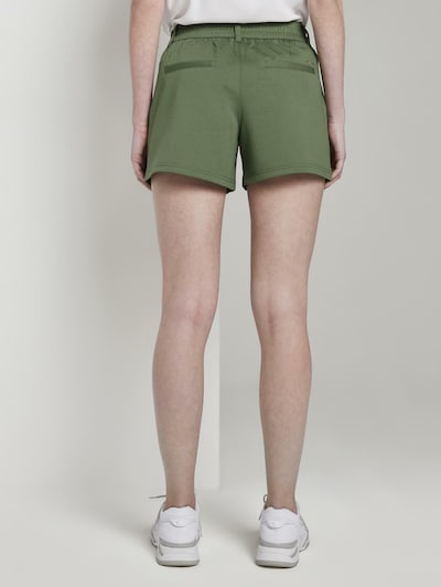TOM TAILOR DENIM Shorts in khaki, Modelansicht