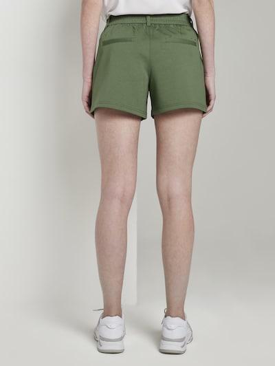 TOM TAILOR DENIM Kalhoty - khaki: Pohled zepředu