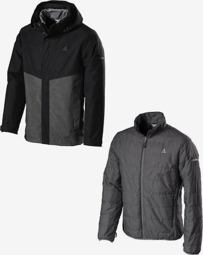 Schöffel Sportjas 'Beaverton2' in de kleur Donkergrijs / Zwart, Productweergave
