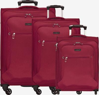 D&N Kofferset 3tlg. in rot, Produktansicht