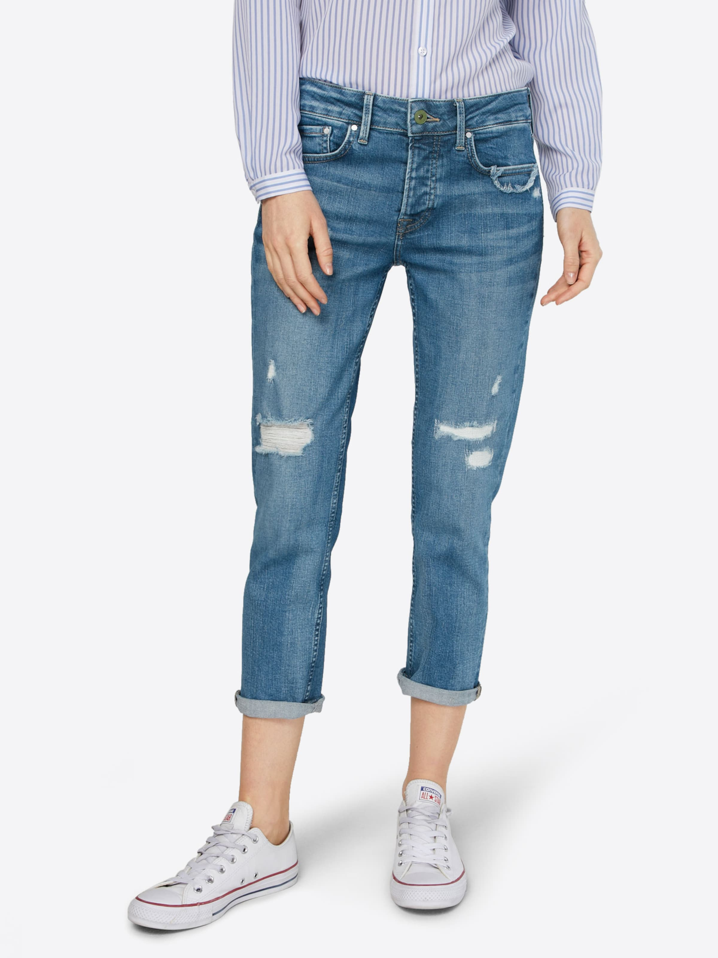 Günstig Kaufen Amazon Pepe Jeans Slimfit Jeans 'JOLIE' Qualität Frei Versandstelle N1ccArIP2