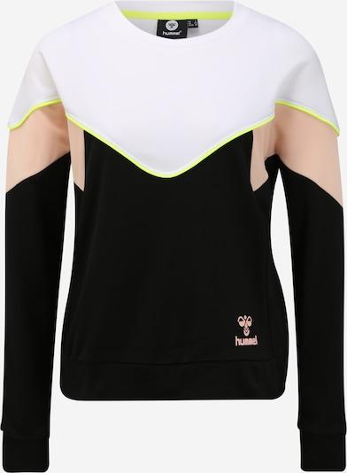 Hummel Sweatshirt 'STUDIO' in rosa / schwarz / weiß, Produktansicht