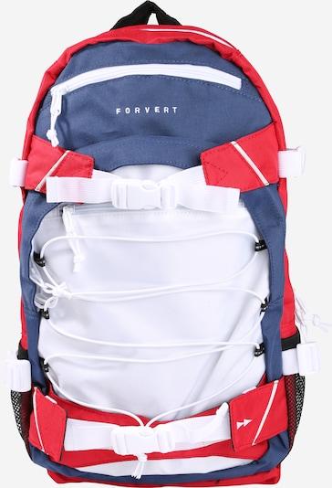 Forvert Rucksack 'Ice Louis' in blau / rot / weiß, Produktansicht