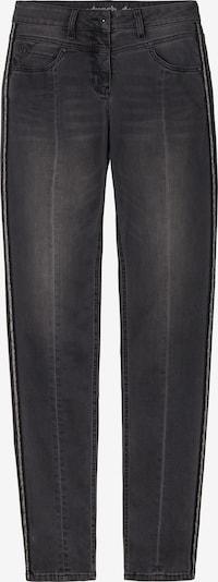 Sandwich Jeans in dunkelgrau, Produktansicht