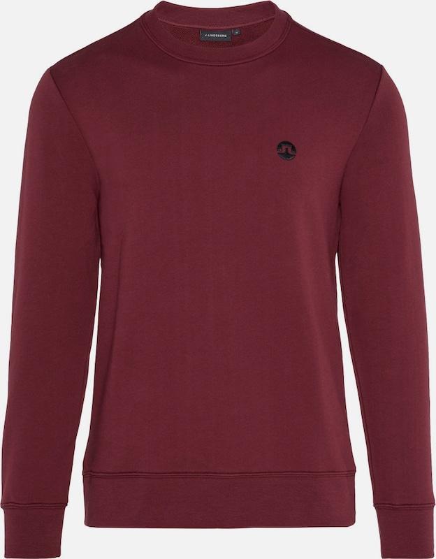 J.Lindeberg 'Throw Ring Loop' Sweatshirt in Blautrot  Neue Kleidung in dieser Saison